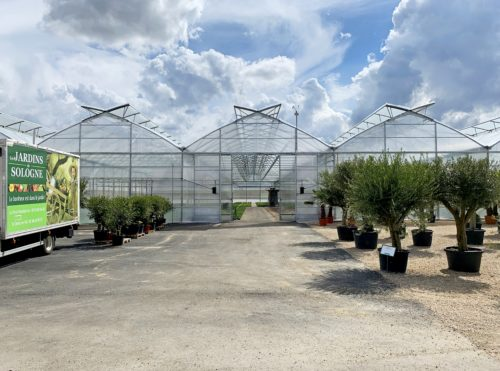 Customized greenhouses jardin de sologne